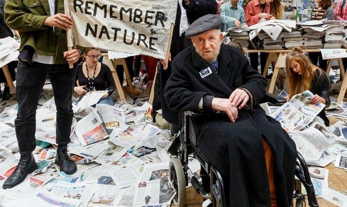 Густав Мецгер — мусорный гений